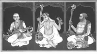 Three Indian musicians