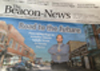 Rick Guzman on front page of Beacon