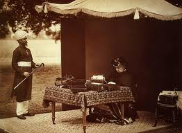 Queen Victoria and Indian soldier
