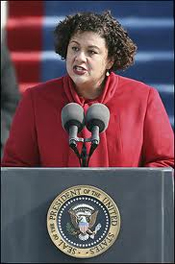 "Elizabeth Alexander reads ""Praise Song"" at Obama Inauguration"