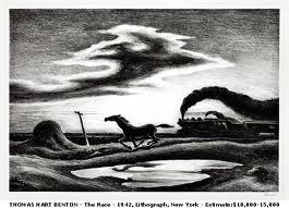 The Race by Thomas Hart Benton