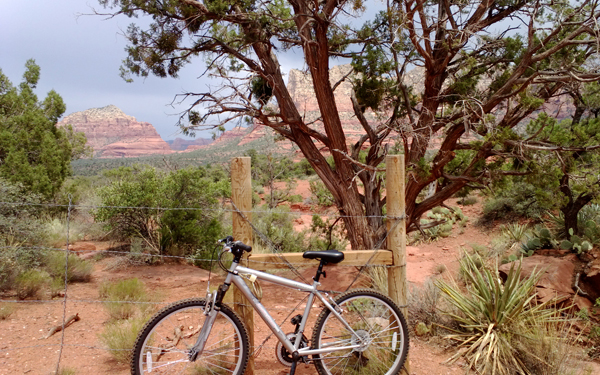 Bicycle in Sedona, AZ