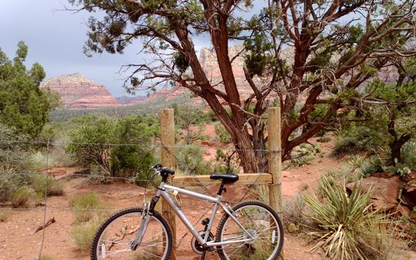 Bicycle in Sedona, AZ