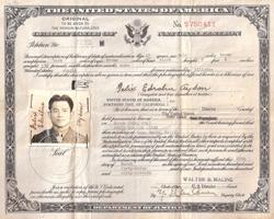 Felix Ayson naturalization certificate