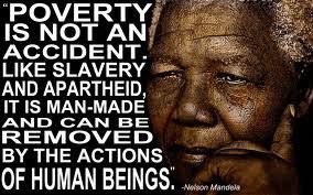 Nelson Manela on poverty