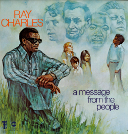 Cover of Ray Charles' A Message from the People