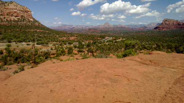 "Missing ""Trinity Rings"" on Bell Rock in Sedona, AZ"