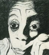 James Baldwin sketch