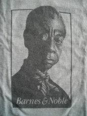James Baldwin t-shirt from Barnes & Noble