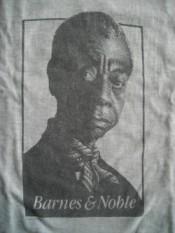 James Baldwin t-shirt from Barnes & Noble