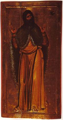 Icon of Elijah, St. Catherine's Monastery, Sinai