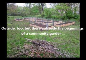 Still from a video on  EMMANUEL HOUSE's community garden.
