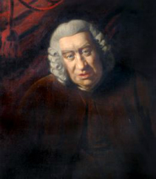 Samuel Johnson by Frances Reynolds, Sir Joshua's sister.